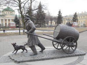 Памятник водовозу Санкт-Петербург