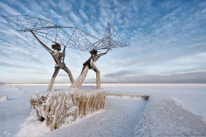 Рыбаки из Петрозаводска