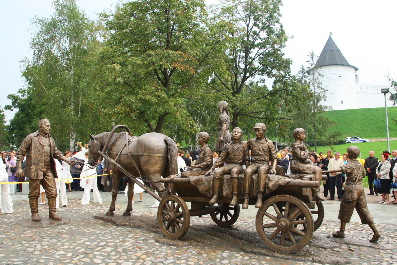 Памятник Асгату Галимзянову