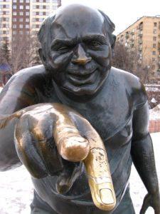 Евгений Леонов в образе Доцента