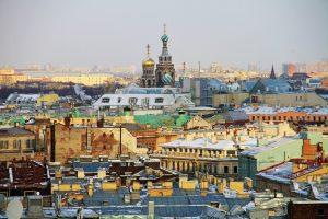 Снежный Санкт-Петербург