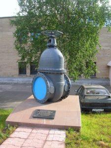 Памятник водопроводному крану