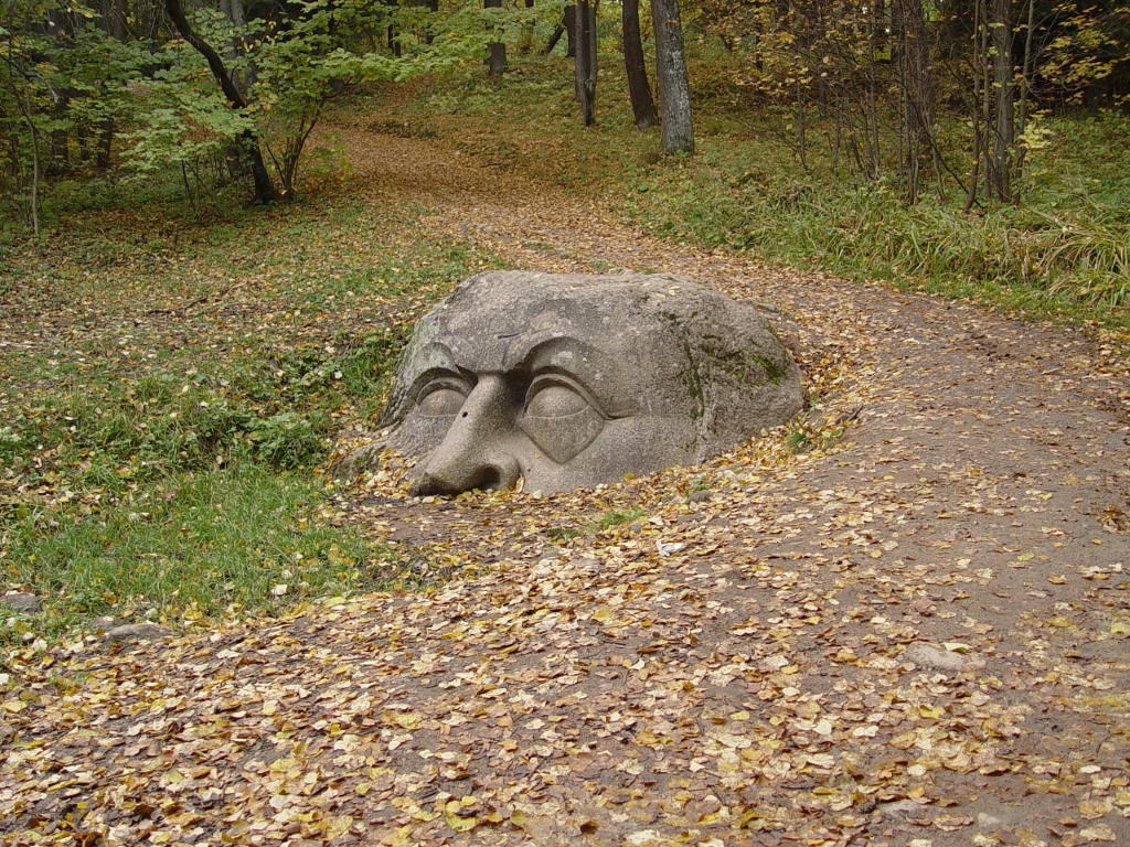 Голова камень