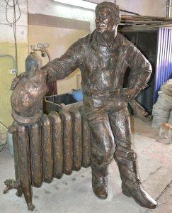 Памятник сантехнику Ростов