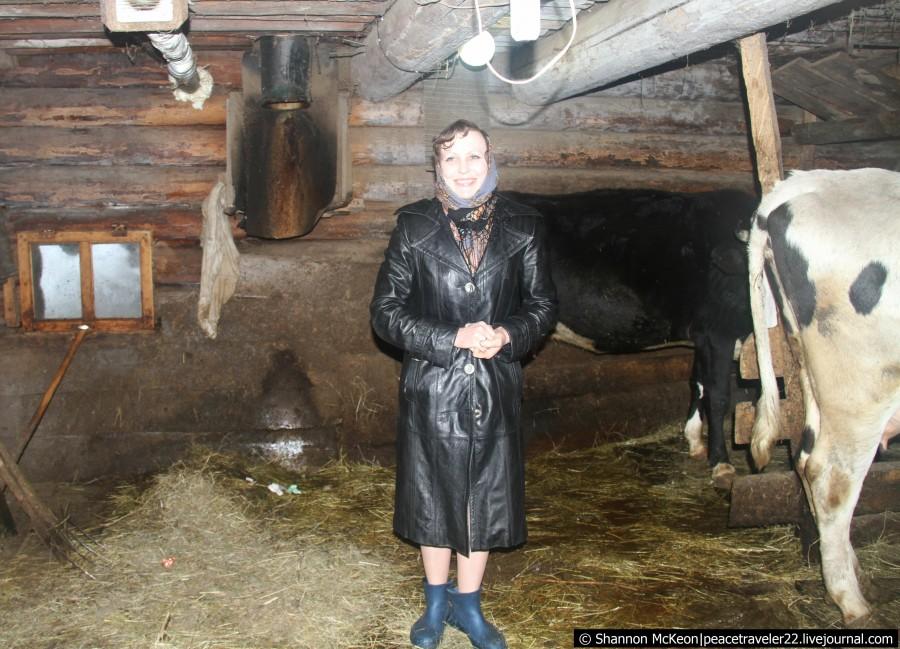 Надя - деревенский фермер
