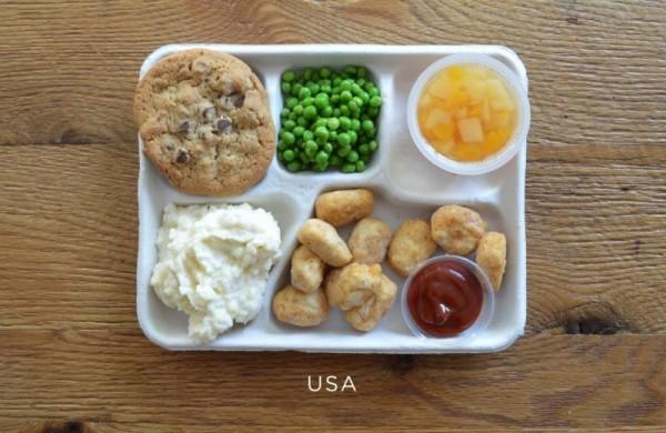 Несъедобные обеды американских школьников