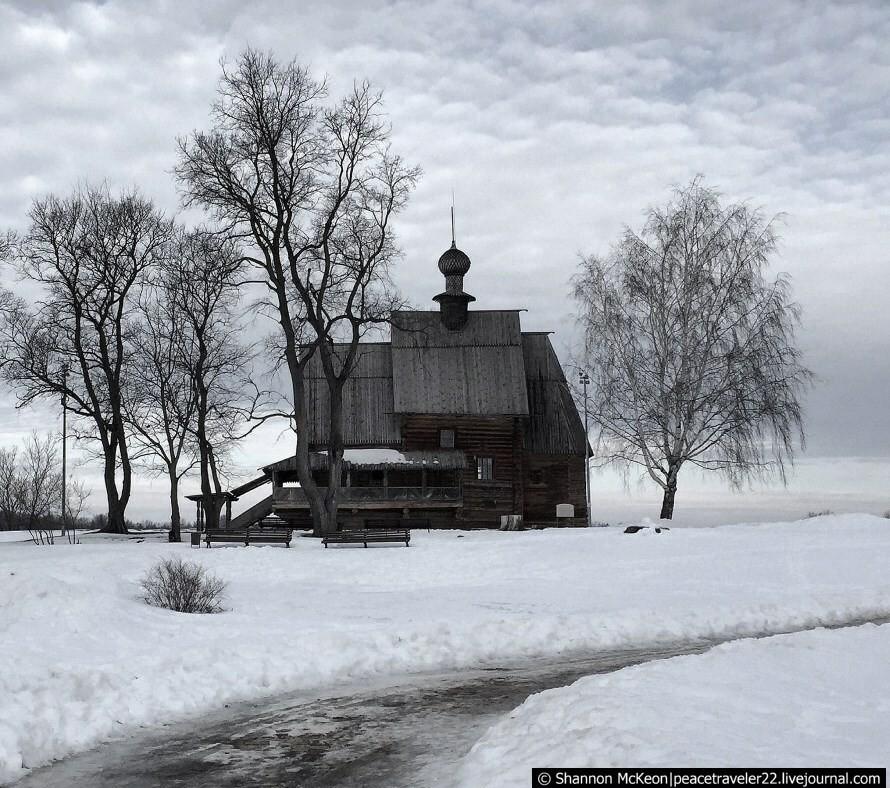 Зимние впечатления из Суздаля