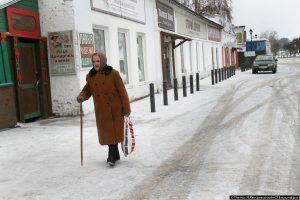 Портрет российской пенсионерки