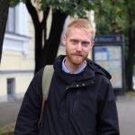 Швед Моррис Викстрём из Санкт-Петербурга