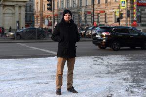 Джонатан Мелвин о Санкт-Петербурге