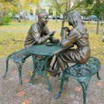 Памятник влюбленным «Встреча»