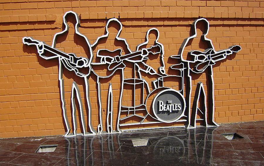 Памятник группе The Beatles