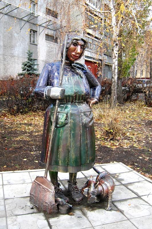 Дворничиха Петровна из Липецка