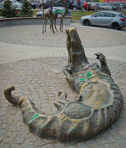 У Слона. Крокодил