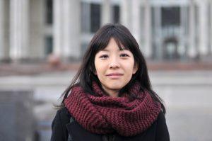 Японка Эриса Мацуо