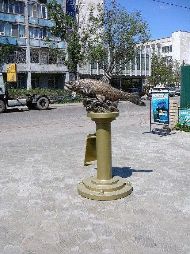 Памятник вобле