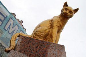 Памятник сибирским котам