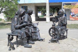 Памятник Рукодельницы