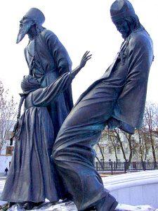 Памятник священнослужителям и мирянам