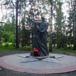 Памятник «Вальс Победы» в Новосибирске