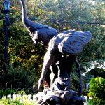 Скульптура «Журавли» в Ростове-на-Дону