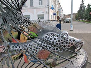Кораблик с тралом из Рыбинска