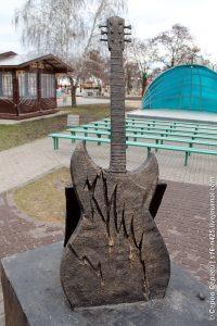 Памятник Михаилу Горшеневу в Воронеже
