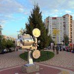 Памятник кинопроектору в Белгороде