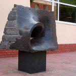 Памятник шестой симфонии Чайковского в Клину