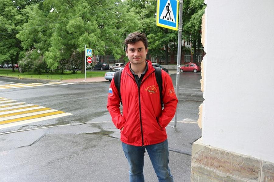Француз Шарль Бераза о Петербурге