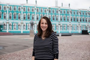Американка Джулия Пантер о жизни в Петербурге