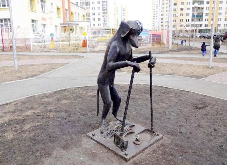 Культурная собака из Екатеринбурга