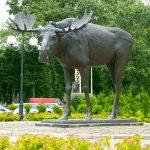 Памятник Лосю в Советске