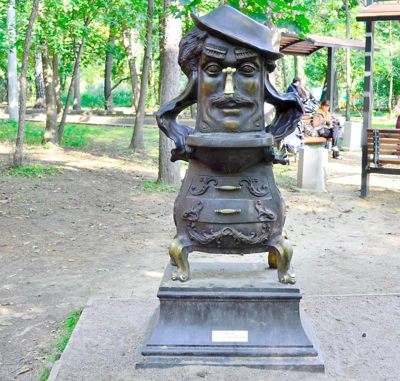 Памятник Мойдодыру в Москве