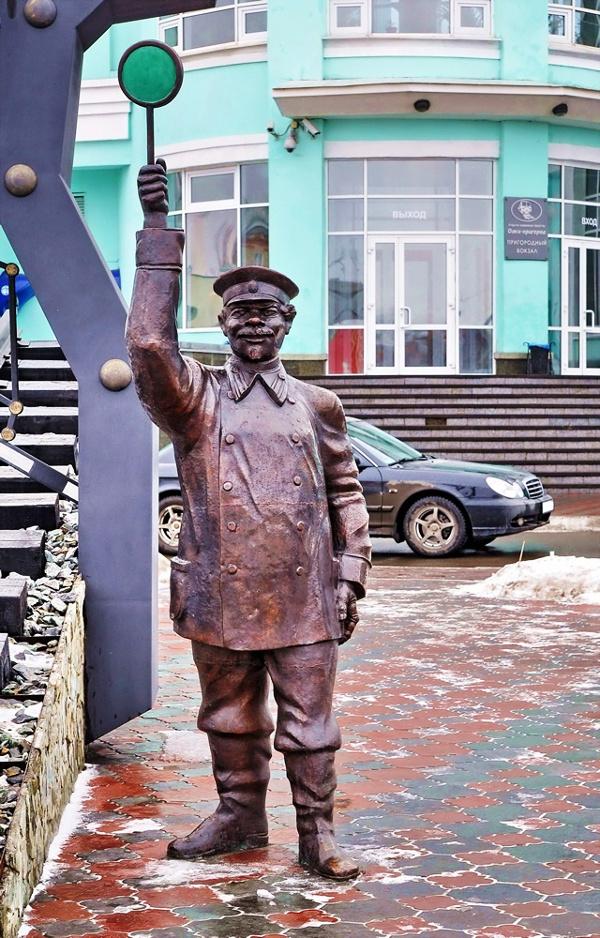 Памятник железнодорожникам в Омске